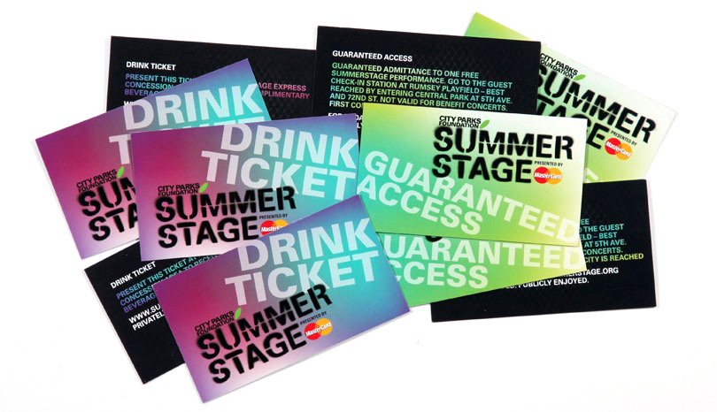 SummerStage Cards