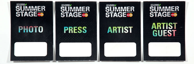 SummerStage Satins