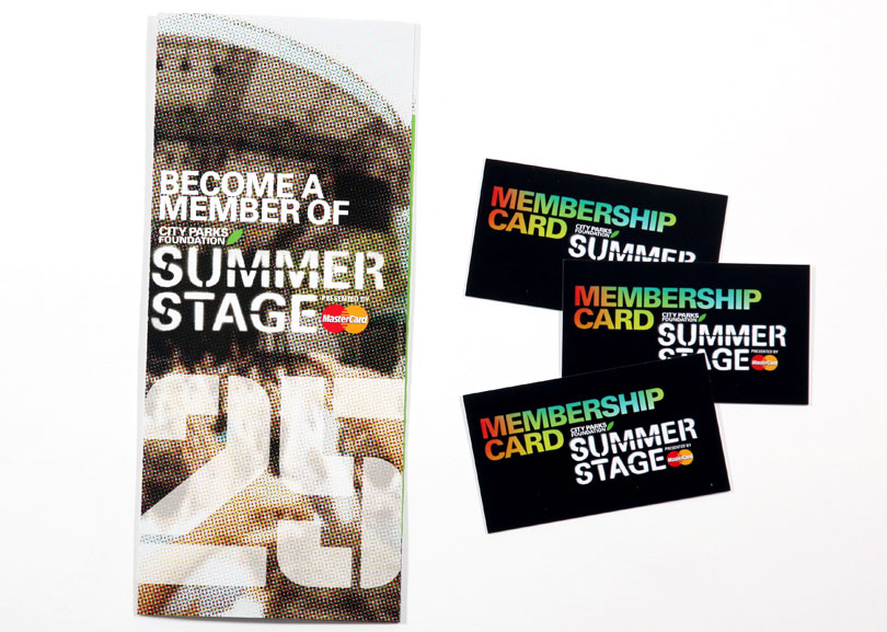 Summerstage Membership Materials